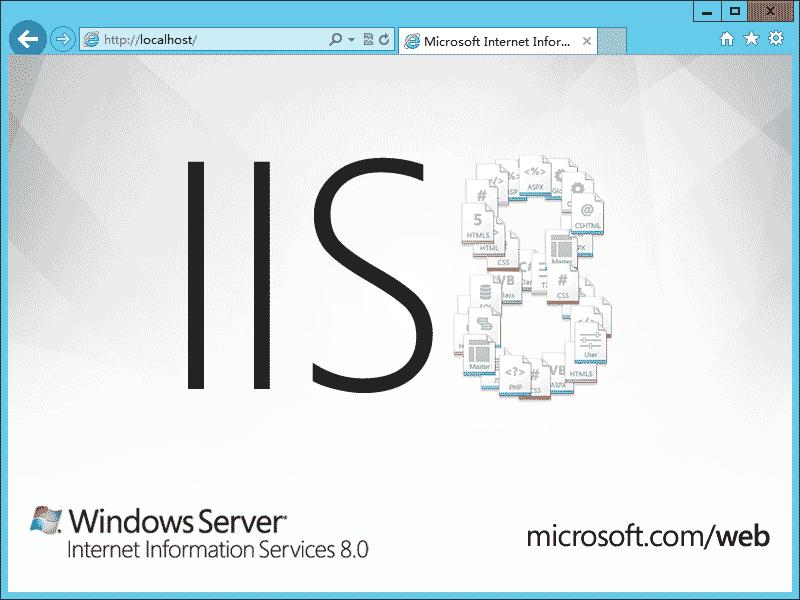 windows server2012安装iis8.0的步骤方法教程
