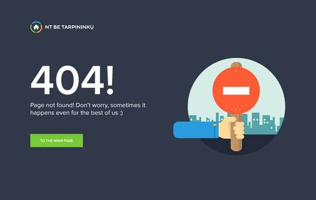 网站404错误页面