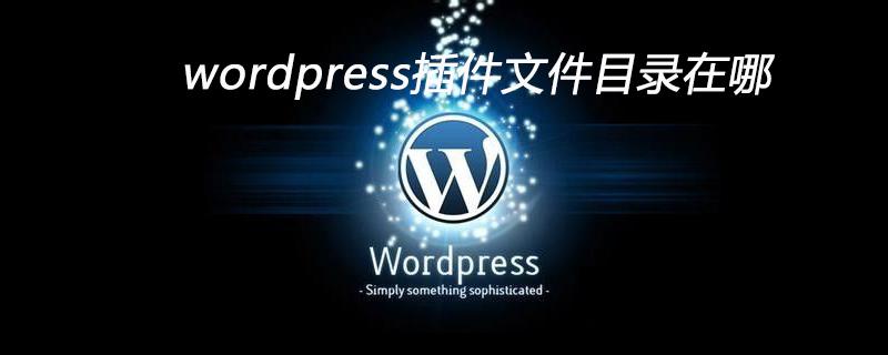 wordpress的插件目录