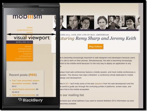 layout viewport浏览器可视区域的宽度