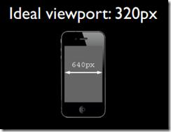 css中的640px就代表iphone屏幕的宽度