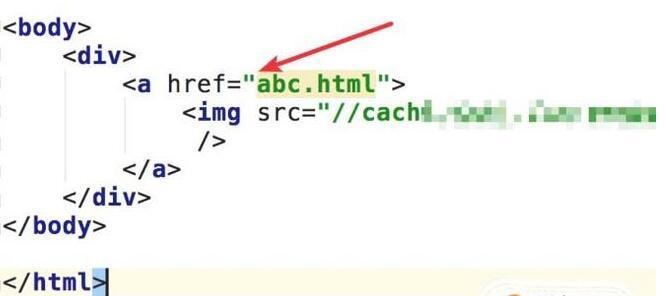 为超链接标签添加href属性,指定链接目标网址。