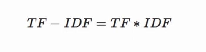TF-IDF算法高词语频率计算公式