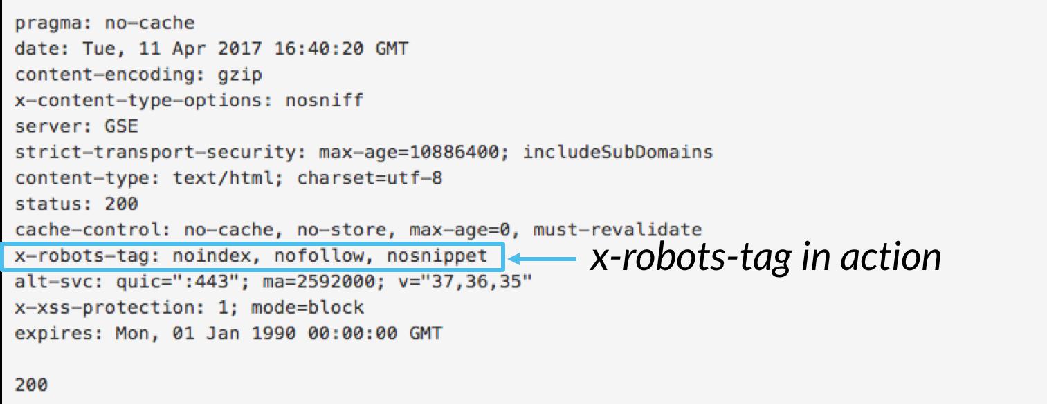 X-robots-tag标签
