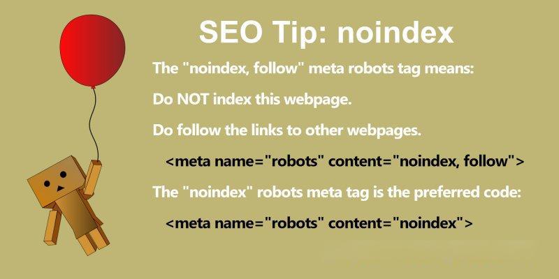 meta robots 标签
