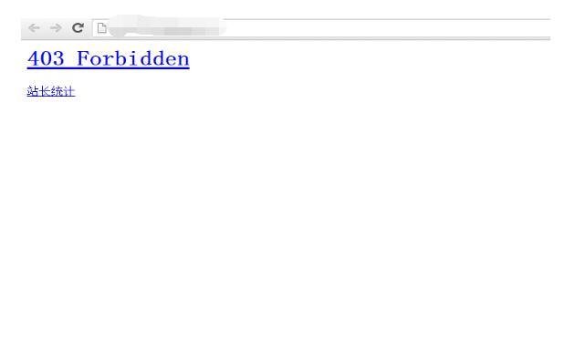解决网站被镜像