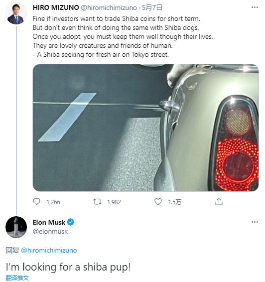 关于拥有Shiba Coin的推文