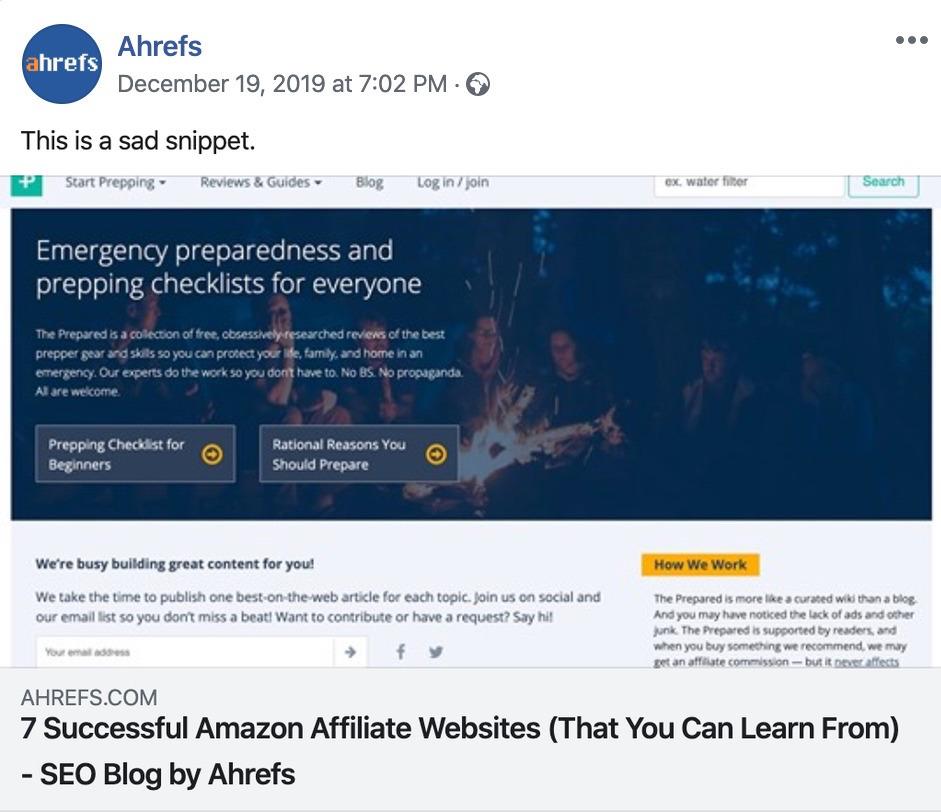 无Open Graph协议分享的网页链接