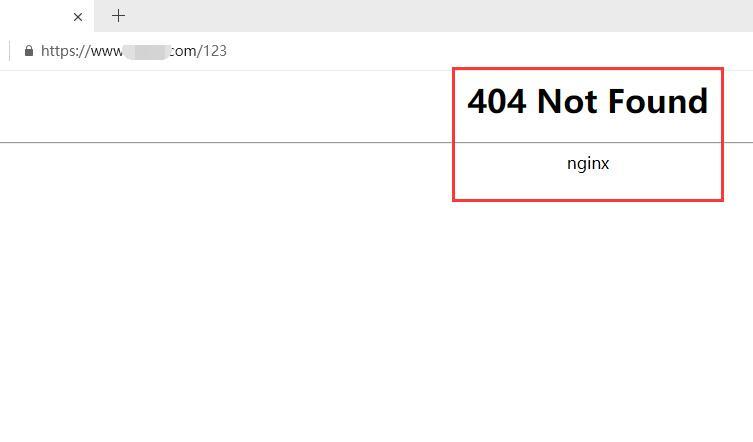 宝塔(bt)面板默认404页面